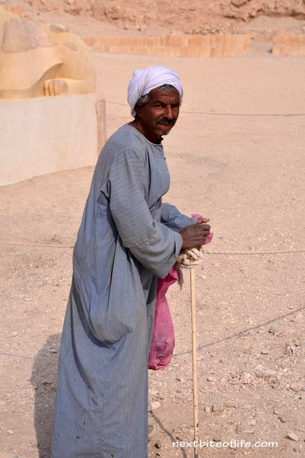 old man in Luxor Egypt