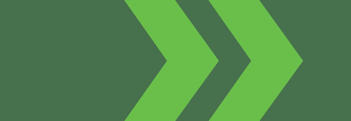NextBranch double arrow overlay green