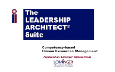 Lominger Leadership Architect