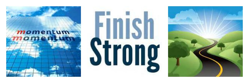 Finish Strong Collage