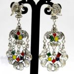 NextBuye Peacock Dangler Earrings for Women 2