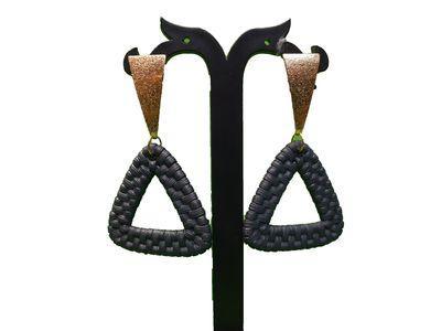 NextBuye Handmade Jute Fashion Earrings 1