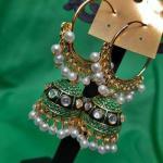 NextBuye Ethnic Hoop Jhumka Earrings 7