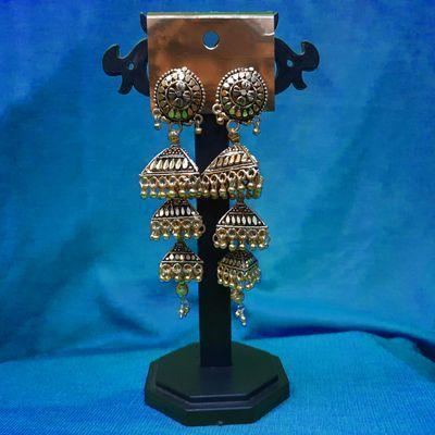 Nextbuye Traditional Kashmiri Big Jhumka Earrings 1