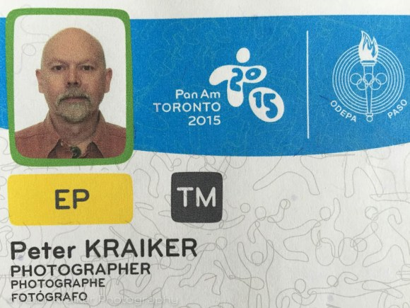 Media Credentials for the Pan Am Games