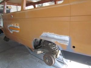 Driver side repair