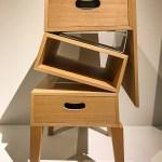 Folding cabinet