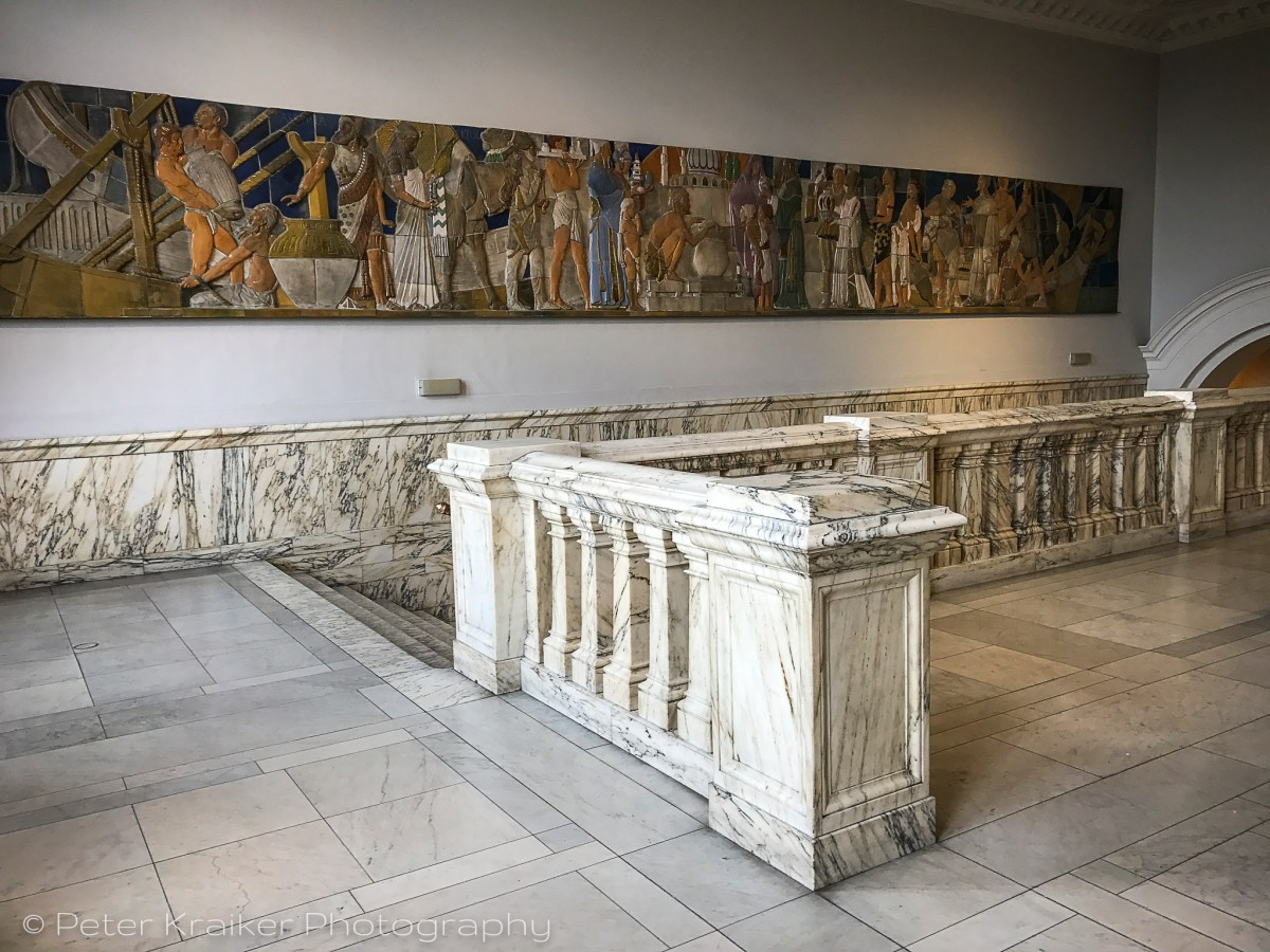 Marble and ceramic