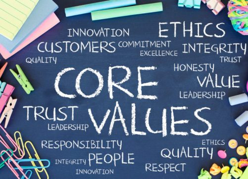 Are Company Values Leading Cultural Change from Behind?