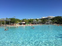 My favorite spot in Cairns! The Lagoon
