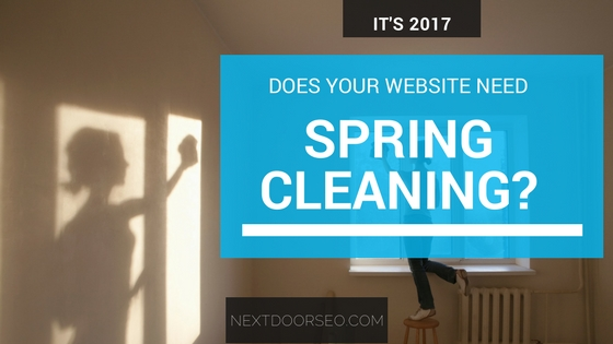 Is Your Website Crying for Spring Cleaning?