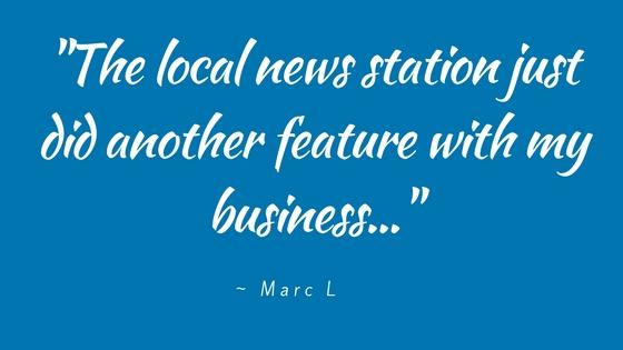 get local media press