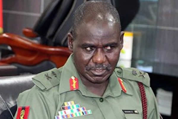 Stay away from politicians, Buratai warns soldiers