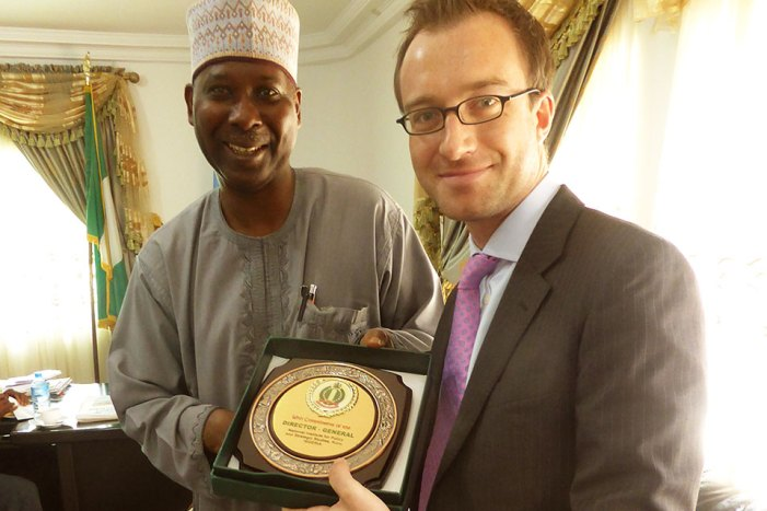 Nigeria's UN Ambassador presents letter of credence