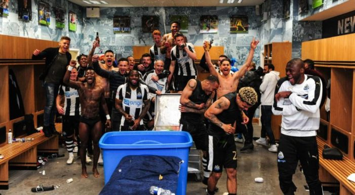EPL Promotion: Newcastle make it double, win Sky Bet Championship