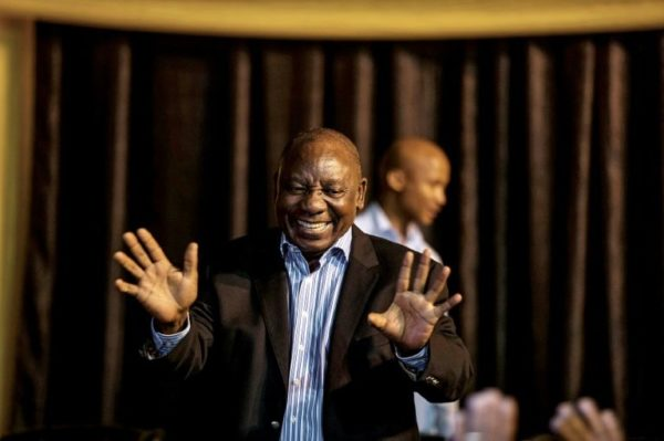 Ramaphosa is new South African president