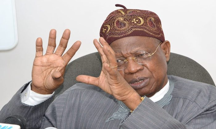 Looters list:  No amount of intimidation will stop release of more names – Lai Mohammed