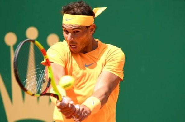 Nishikori plots Nadal's ouster in Monte Carlo
