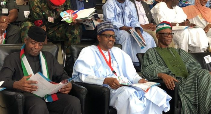PHOTOS OF THE DAY:  Faces at the APC national convention in Abuja