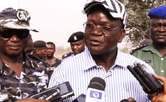 Ortom takes over leadership of Benue PDP