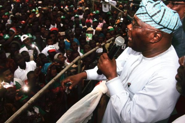 BREAKING:  Atiku declares presidential ambition, promises to restore economy, security