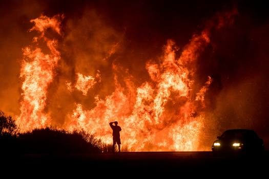 Foreign Titbits: California wildfires: Number of missing leaps to 631