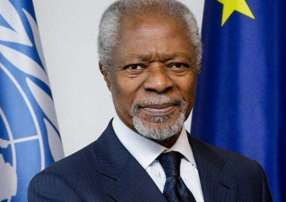 Kofi Annan; 1938 – 2018: Tribute to a good man gone to sleep