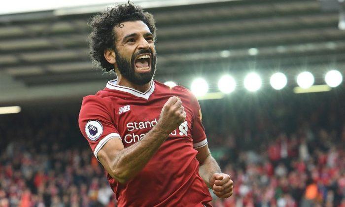 Liverpool's Salah, Mane hammer West Ham