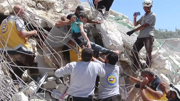 Foreign Titbits:  Arms depot blast in Syria's Idlib province kills 39