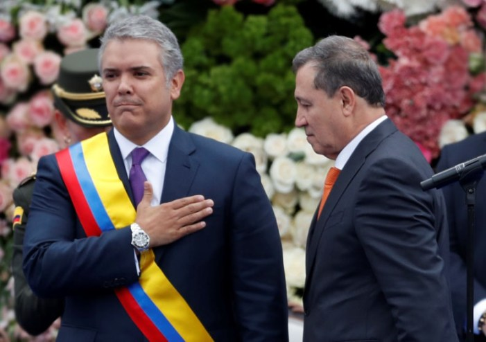 Foreign Titbits:  Iván Duque: Colombia's new president sworn into office