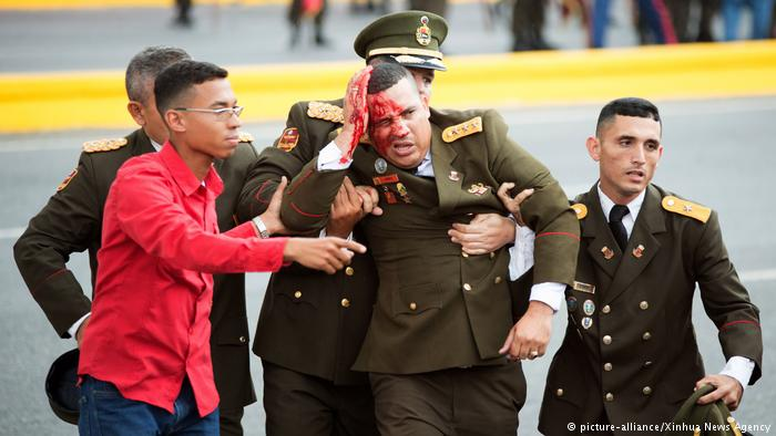 Foreign Titbits:  Venezuela President Maduro 'survives' drone attack