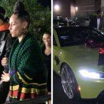 Alicia Keys gifts her husband Aston Martin on Birthday