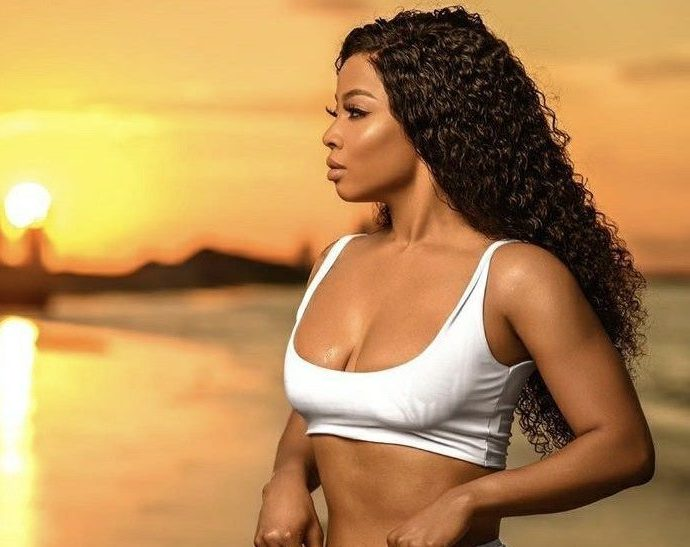 Toke Makinwa Flaunts Hot Body In Bikini As She Turns 34