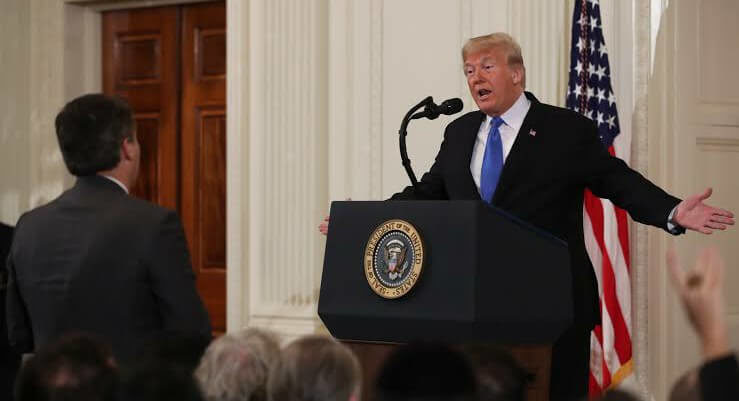 White House to restore press pass to CNN reporter after court order