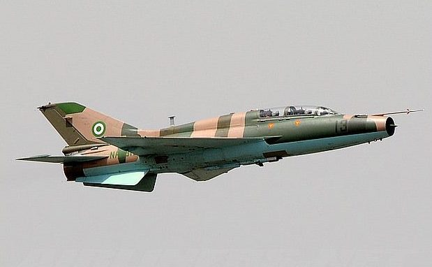 Operation Green Sweep: NAF destroys Boko Haram camp in Borno