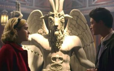 Sabrina makers sued by Satanic Temple over statue