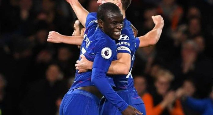 Premier League: Chelsea 2 -0 Man city
