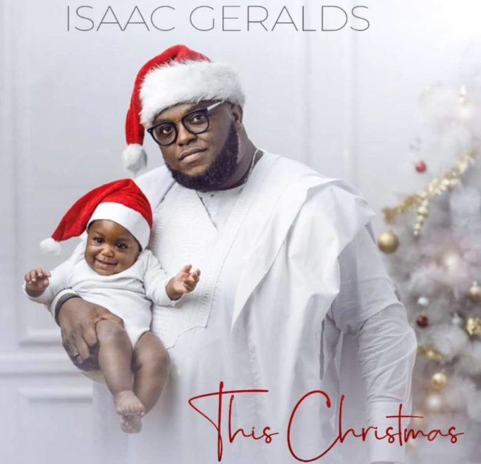 """Isaac Geralds gifts music lovers """"This Christmas"""""""