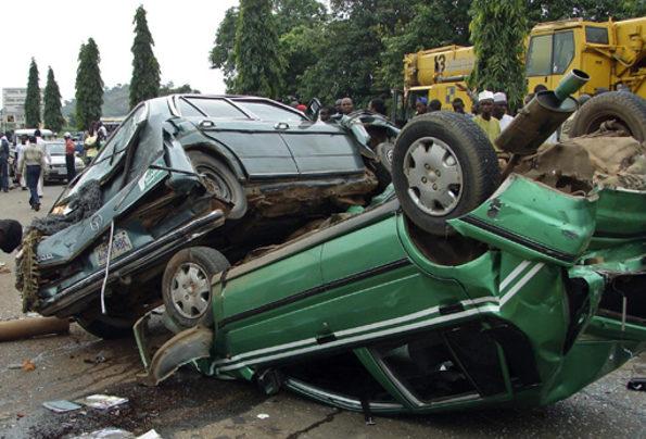 Truck crushes motorcyclist, passenger to death in Ogun