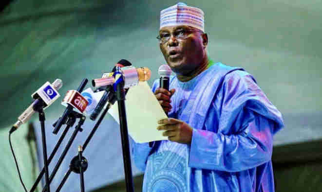 JUST IN: Vote Out Buhari, Atiku Says in State of Nation Address