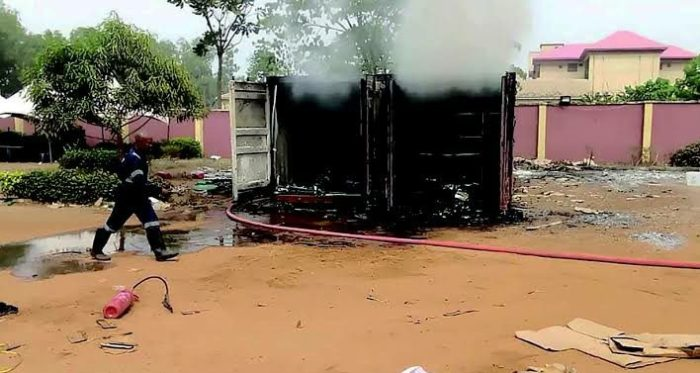 4,695 smart card readers burnt in Anambra fire incident – INEC
