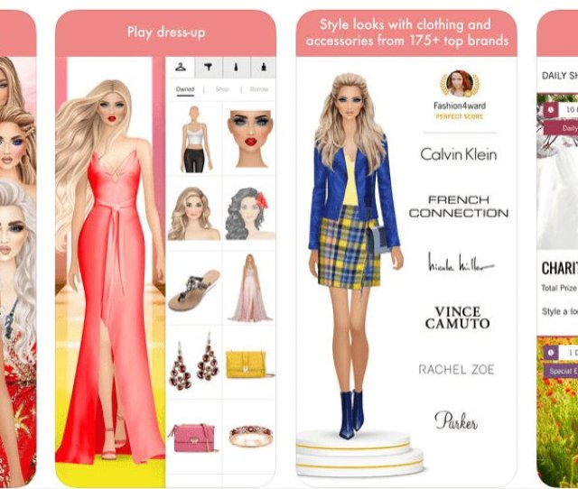 Best Fashion Designer Games Not Your Regular Dress Up Apps