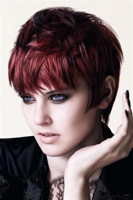 Rote Kurze Haare Frauen Frisuren Rote Haare Frauen