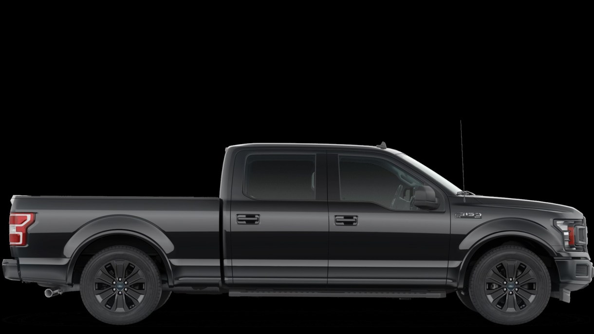Meet The 2020 Ford F-150 XLT Black Appearance Package ...