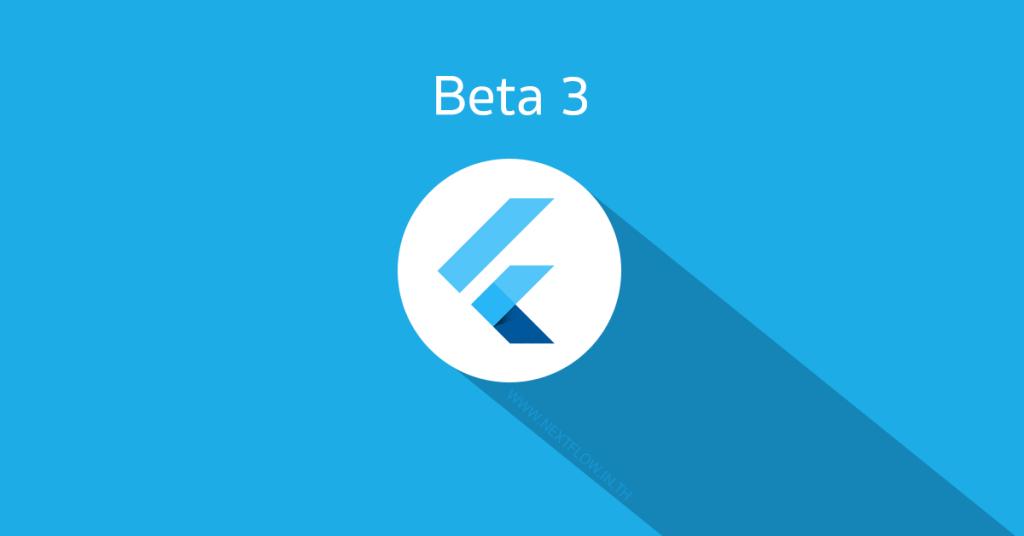 Google Flutter beta 3 - facebook post cover