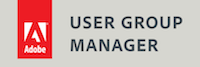 Adobe User Group Manager