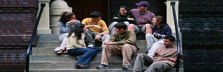Image result for Young Adults hanging out