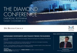 Muzaffar Khan The Diamond Conference