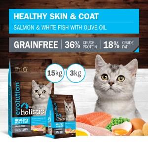 CAT Healthy skin and coat