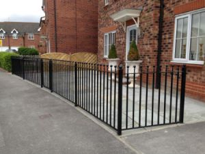 Steel Gate and Railings Ball top Design Portsmouth